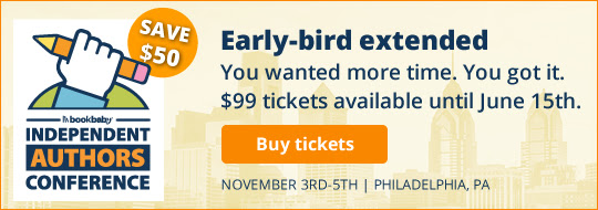 Early-bird extended: You wanted more time. You got it. $99 tickets available until June 15th.