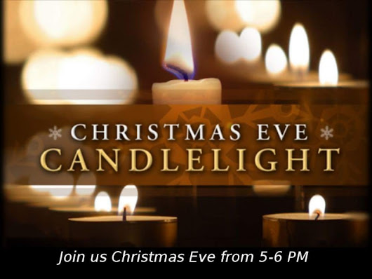 Christmas Eve Candlelight Service | Patch
