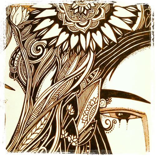 Goth girls, detail by megan_n_smith_99
