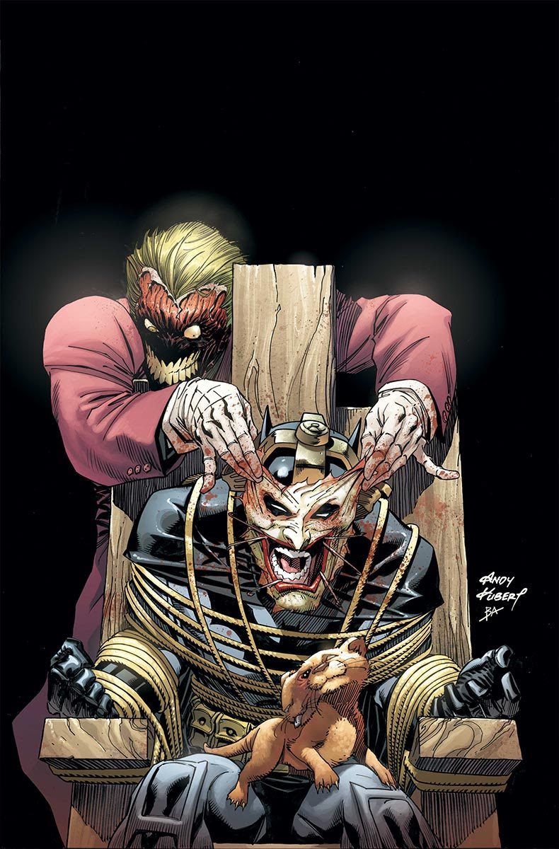 Andy Kubert's variant cover for Batman #39. Click to see more comic book art.
