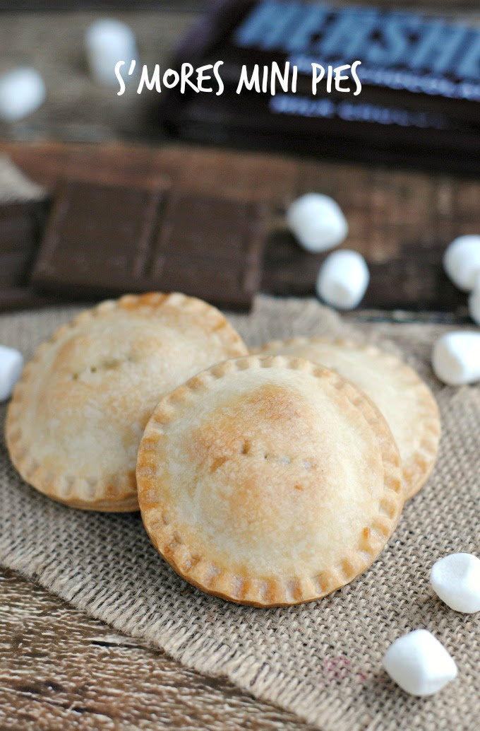 Handheld Smores Mini Pies by The Rebel Chick