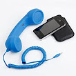 Amazon.com: Retro Telephone Handset - Classic Cell Phone Receiver for iPhone, iPad, Xmas gifts, Cyber Monday: Office Products