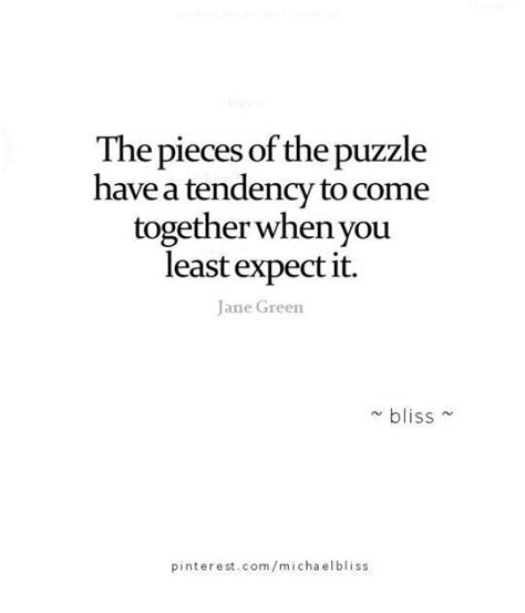 Jigsaw Puzzle Quotes Life