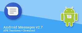 [Update: Added Duo calling] Android Messages v2.7 prepares to add new message indicators and RCS support for dual-SIM phones, drops 6 MB in size [APK Teardown]