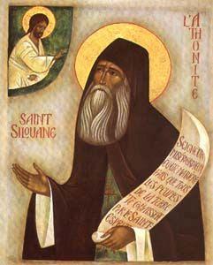 Icône de Saint Silouane