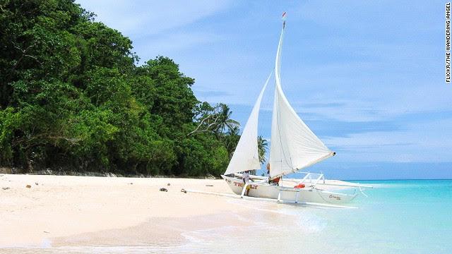 84. Puka Beach, Boracay, Philippines