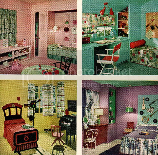 Chronically Vintage: Four Marvelously Colourful 1950s
