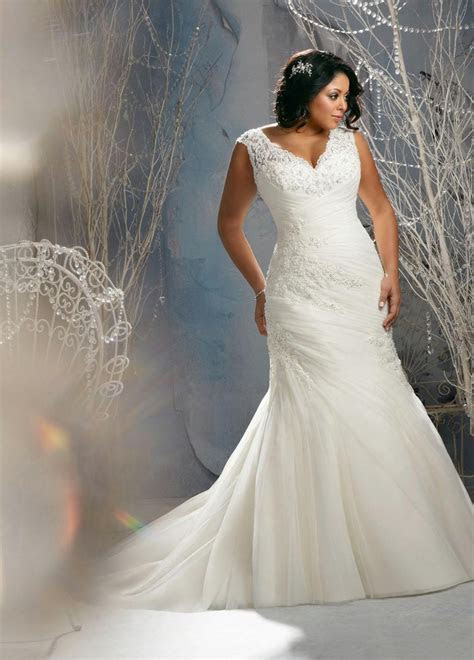 Custom plus size wedding dress (update September
