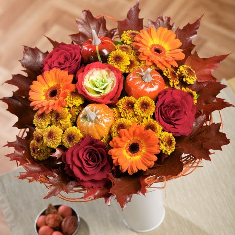 Pumpkin Patch Bouquet | Halloween Flowers By Post |
