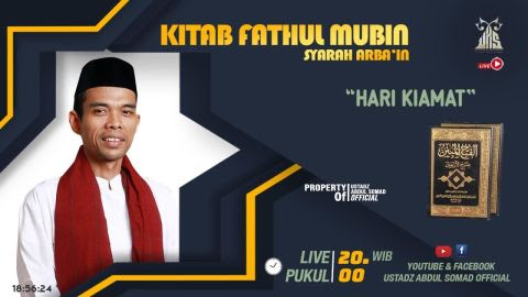 LIVE STREAMING - Kajian Kitab Fathul Mubin | | HARI KIAMAT | | Live - Pekanbaru