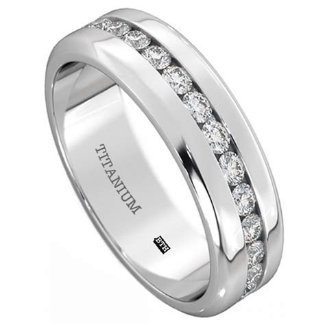 Mens Titanium 6mm Wide Classic Unisex Wedding Engagement