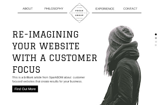 How to Develop a Customer Focused Website - Spark BDM