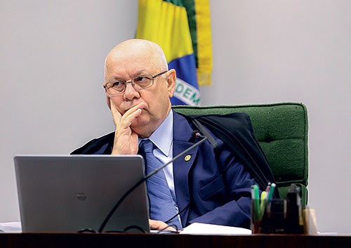 Ministro do STF Teori Zavascki  (Foto: Audiência)