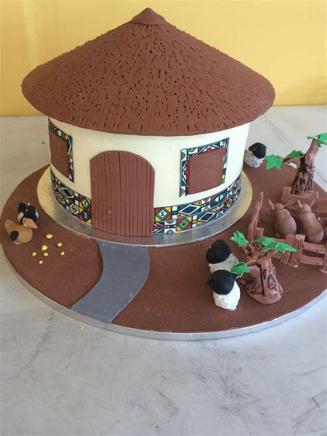 The Ndebele Traditional Wedding Cake   CakeCentral.com
