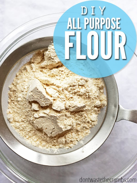 How to Make All-purpose Flour