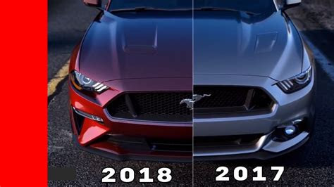 ford mustang  older mustang design comparison youtube