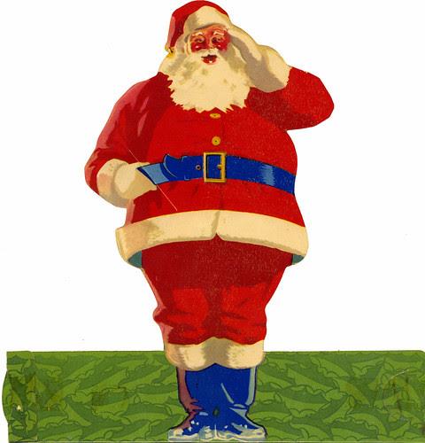 Santa standing
