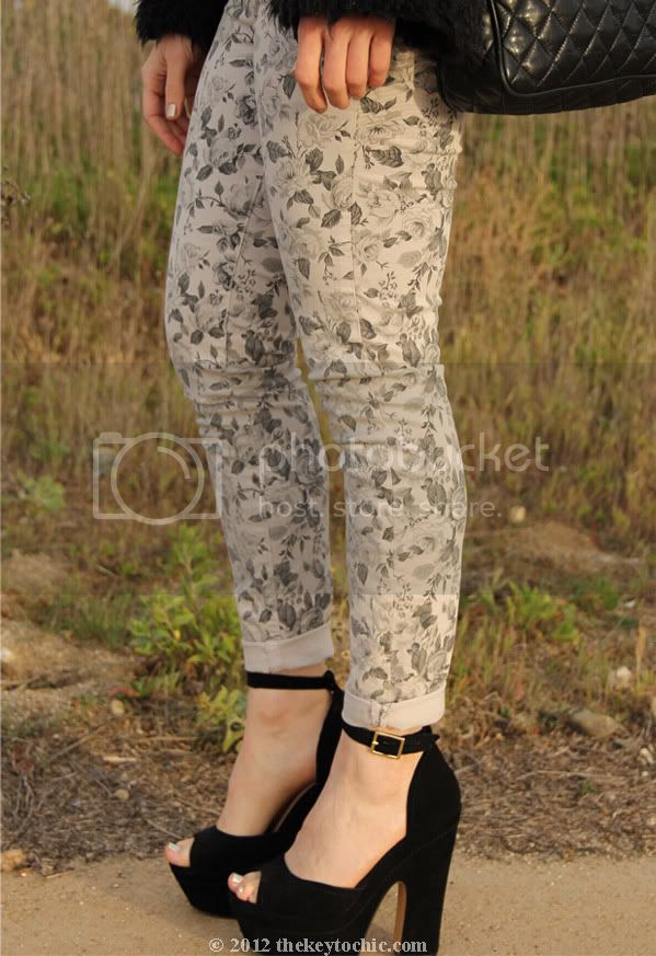 J Brand floral jeans, Steve Madden Grettta, Los Angeles fashion blog, southern California fashion blogger
