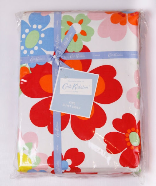 Cath Kidston King Duvet Cover Pop Floral by EndlessChoicesShop