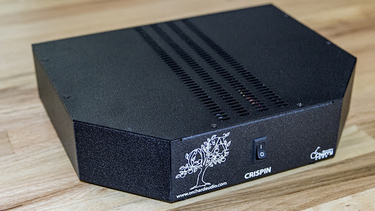 CRISPIN - High Performance Stereo Amplifier