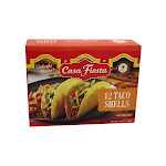 Casa Fiesta - Taco Shells - 12 Shells Per Box - Case of 12 - 4.6 oz