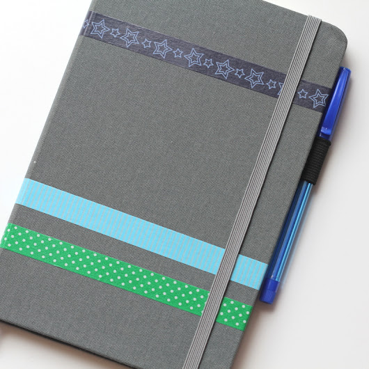 How to Add a Pen Loop to a Notebook • The Crafty Mummy