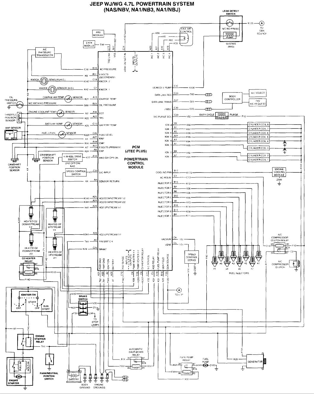99 Grand Cherokee Radio Wiring Diagram