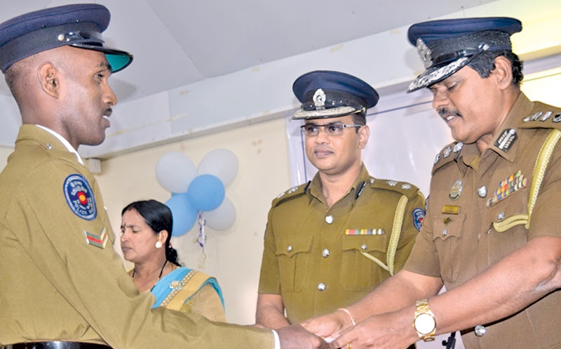 Seventy Batticaloa police officers receive awards