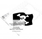 Pirate Flag Skull and Cross Bones Shadow Yard Art Woodworking Pattern - fee plans from WoodworkersWorkshop® Online Store - flags,skull and cross bones,pirates,skaliwags,shadow art,Halloween,silhouettes,yard art,painting wood crafts,scrollsawing patterns,drawings,plywood,plywoodworking plans,woodworkers projects,workshop b