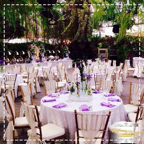 Top 50 Wedding Venues in Manila   Tiffany Chairs Rental