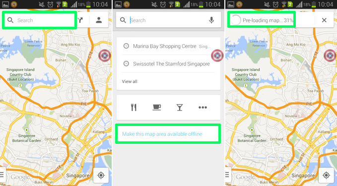 How To Use Google Maps Offline On Android Aw Center