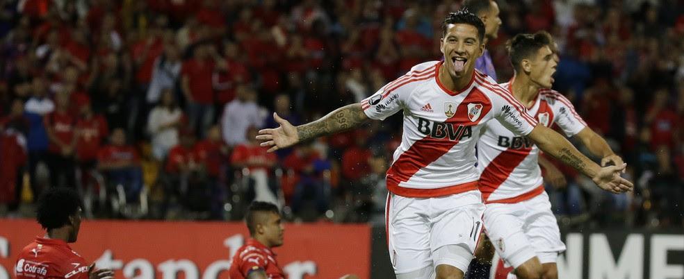 River Plate ainda não perdeu na Libertadores 2017 (Foto: Ricardo Mazalan/AP)