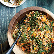 Wheat Berry Salad with Tuscan Kale and Butternut Squash Recipe