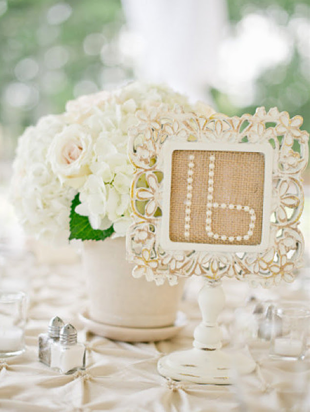 Fun Wedding Tabel Numbers Inspiration
