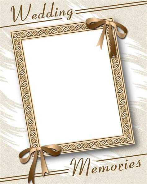 Wedding Photo Frames For Photoshop Free Download   Page 5