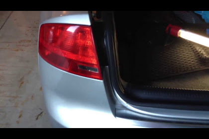 2007 Audi A4 Brake Light Bulb Replacement