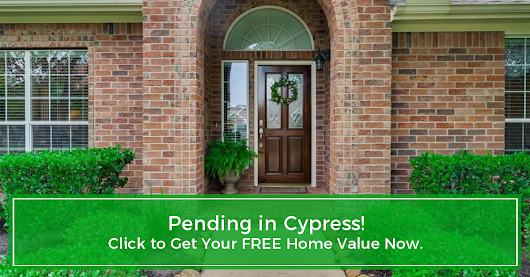 Another Home Pending Sale in Cypress!