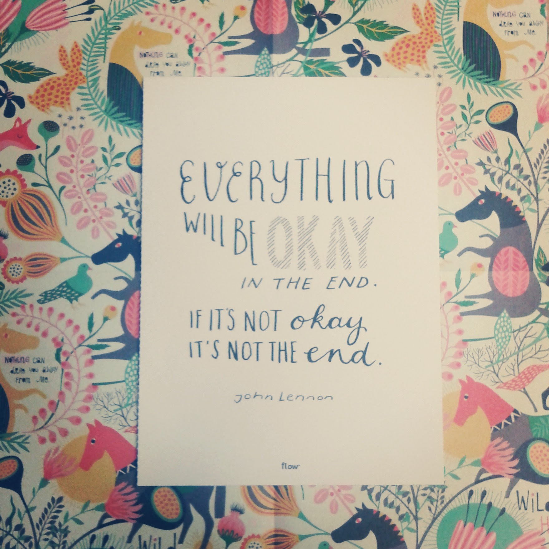 Everything Will Be Okay Flow Magazine
