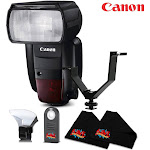 Canon Speedlite 600-EX Flash International Version Accessory Kit