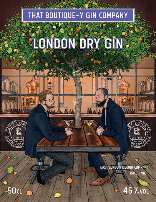 A quick look at... Batch 1 of That Boutique-y Gin Company's East London Liquor Company Gin