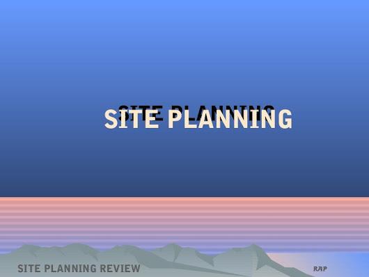 Janine Santos Google – Site Planning Kevin Lynch