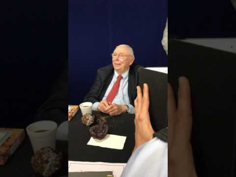 Charlie Munger post-Daily Journal Feb 2017 meeting Q&A