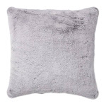 Brentwood Originals Tip Gray Faux Fur Pillow