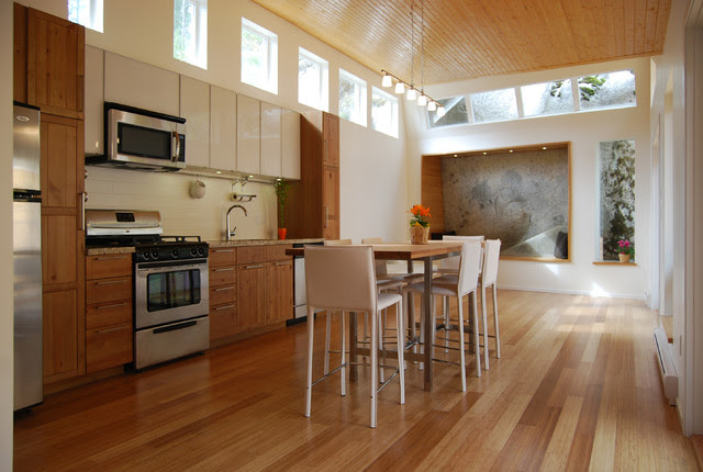 I-shape kitchen layouts take a streamlined, flexible approach and ...