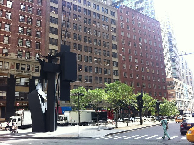 Louise Nevelson Plaza