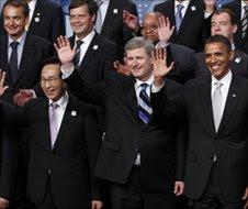 World leaders in Toronto