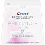 Crest 3D Whitestrips Brilliance Gentle Teeth Whitening Kit - 16 count
