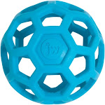 JW Pet HOLEE ROLLER BALL Dog Chew Treat Fetch Bouncy Toy JUMBO 8 inch
