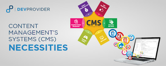 Content management's systems (CMS) necessities - DevProvider