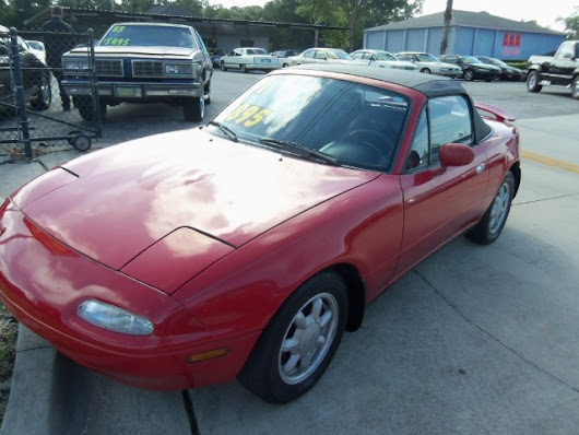 Used 1991 Mazda MX-5 Miata for Sale in Deland FL 32720 Richard Bell Auto Sales & Powersports